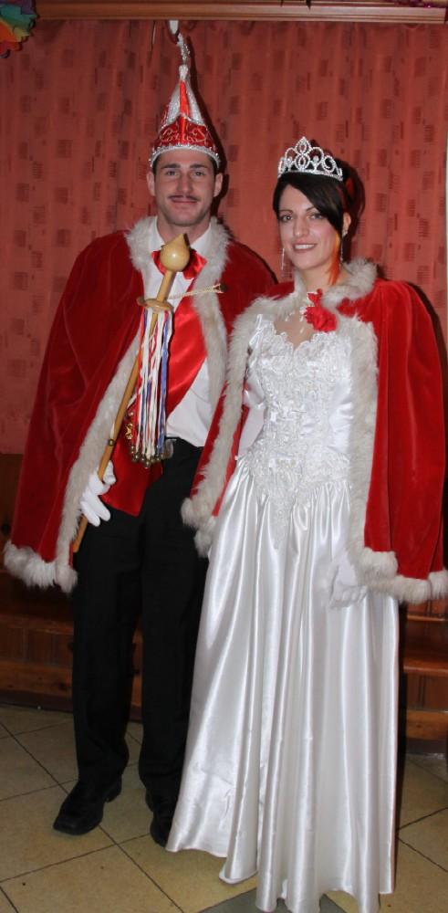 Prinzessin Jaqueline I und Prinz Marco I